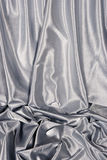White satin background Stock Photo