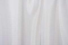 White satin fabric Stock Images