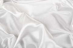 White satin Royalty Free Stock Images