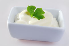 White sauce Royalty Free Stock Photo
