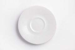 White saucer Stock Image