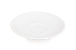White saucer Royalty Free Stock Photo