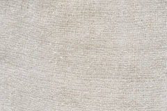 White Scarf cotton texture background Stock Photography