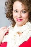 White scarf II Royalty Free Stock Photo