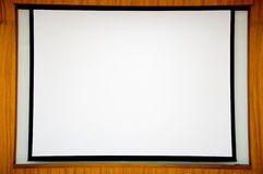 White scene presentation Stock Photography