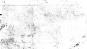 White scratched grunge background, old film effect for text. Overlays scratched grunge texture. Old vintage film effect on isolated background space for text stock images