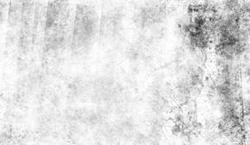 White scratched grunge background, old film effect for text. Texutre royalty free stock images