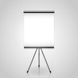 White screen projector clean background Stock Photo