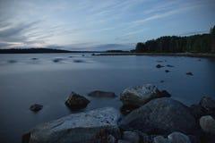 White Sea evening Stock Image