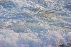 White sea foam. The white sea foam. background. close up royalty free stock photo