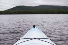 White Sea Kayak Stock Photography