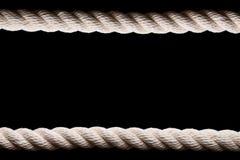 White sea rope Royalty Free Stock Photo