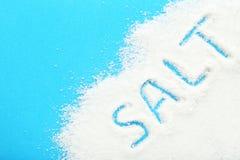 White Sea Salt Royalty Free Stock Photos
