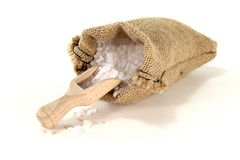 White sea salt Stock Photo