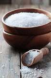 White sea salt fot cooking Stock Photography