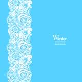 White seamless border design element Stock Image