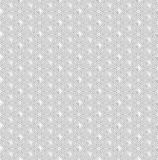 White seamless geometric pattern, ribbed surface, rhombs the figures, the 3D effect vector.  Stock Photography