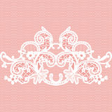 White seamless lace Stock Images