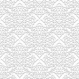 White Seamless Pattern Royalty Free Stock Photos