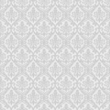 White seamless royal background Stock Image