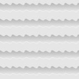 White seamless waves abstract pattern background Stock Photos
