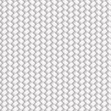 White Seamless Wicker Pattern Royalty Free Stock Images