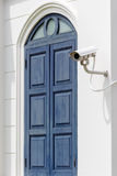 White Security Camera Stock Images