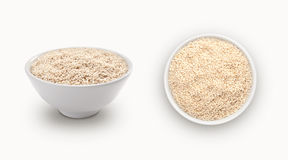 White sesame Stock Images