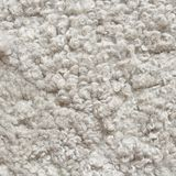 White shaggy carpet Royalty Free Stock Photography