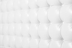 White shaped leather sofa background texture Stock Photography
