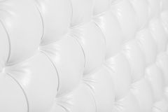 White shaped leather sofa background texture Stock Image