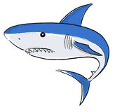 White Shark Painting Royalty Free Stock Photography