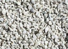 White sharp stones Royalty Free Stock Image