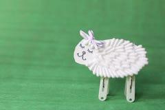 White sheep Stock Photos