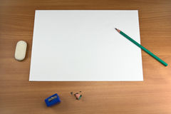 White sheet Stock Photography