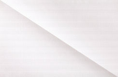 White sheet of folded  paper Stock Images
