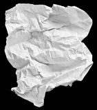 White sheet of paper Royalty Free Stock Images