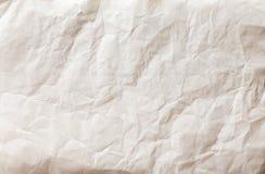 White sheet of paper folded Royalty Free Stock Image