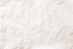 White sheet of paper folded Royalty Free Stock Photography