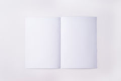 White sheet of paper Stock Images