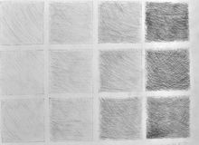 Squares of different shades Royalty Free Stock Photography