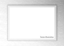 White sheet of paper. Vector background Stock Photos