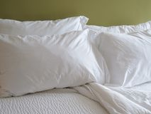 White Sheets Stock Photography