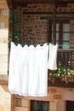 White sheets Royalty Free Stock Photos