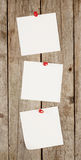 White sheets of paper Stock Photos