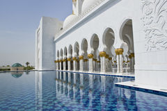 White Sheikh Zayed Mosque Stock Photos