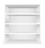 White shelf Stock Photo