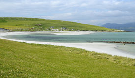 White Shell Sand Beach Stock Image