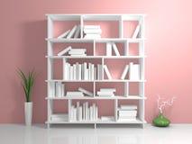 White shelves Royalty Free Stock Photography