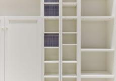 White shelves Stock Image